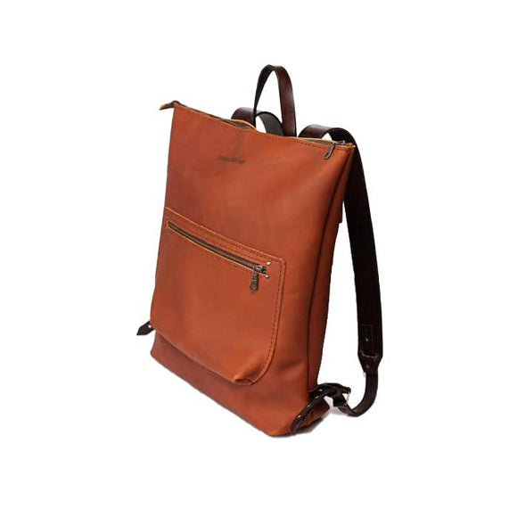 Campbell Armoury Leather Backpack clothing & accessories Campbell Armoury rust-brown