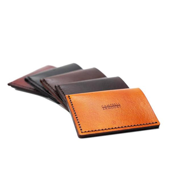 Campbell Armoury Leather Cardholder clothing & accessories Campbell Armoury