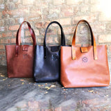 Campbell Armoury Leather Classic Tote Bag Shopper clothing & accessories Campbell Armoury