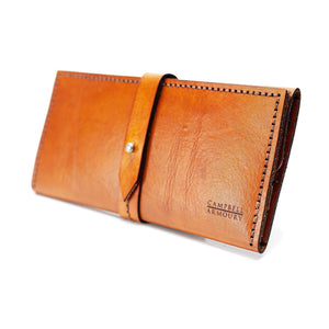 Campbell Armoury Leather Ladies Wallet clothing & accessories Campbell Armoury tan