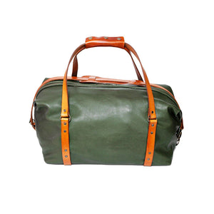 Campbell Armoury Leather Traveller Duffle Bag clothing & accessories Campbell Armoury olive