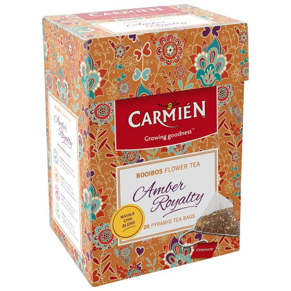 Carmién Amber Royalty Rooibos Flower Tea food Carmién Tea