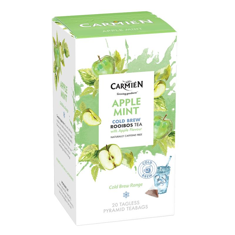 Carmién Apple Mint Cold Brew Rooibos Tea food Carmién Tea