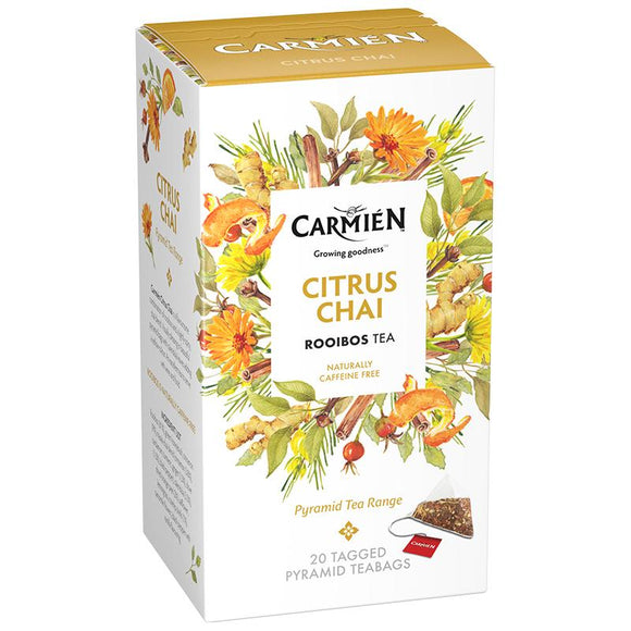 Carmién Citrus Chai Rooibos Tea food Carmién Tea