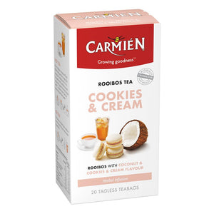 Carmién Cookies & Cream Rooibos Tea food Carmién Tea