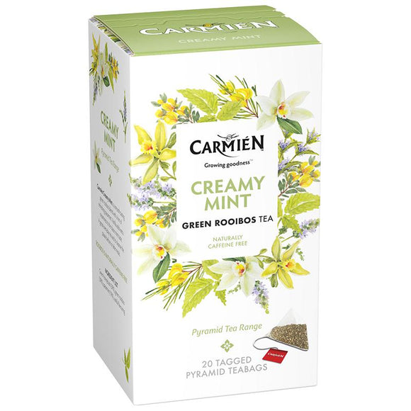 Carmién Creamy Mint Green Rooibos Tea food Carmién Tea
