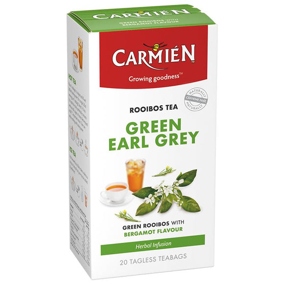 Carmién Green Earl Grey Rooibos Tea food Carmién Tea