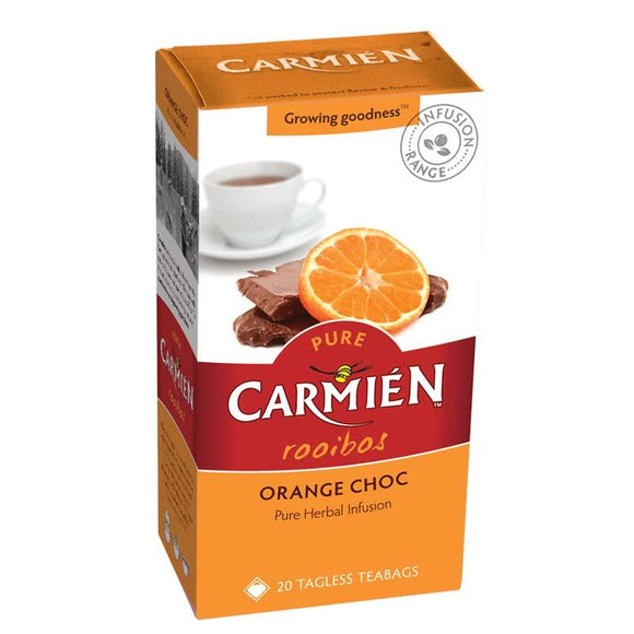Carmién Orange Choc Rooibos Tea food Carmién Tea