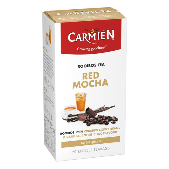 Carmién Red Mocha Rooibos Tea food Carmién Tea