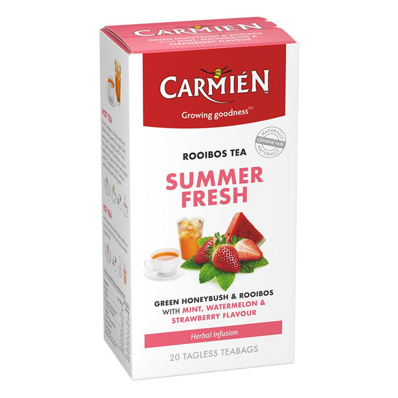 Carmién Summerfresh Green Rooibos Tea food Carmién Tea