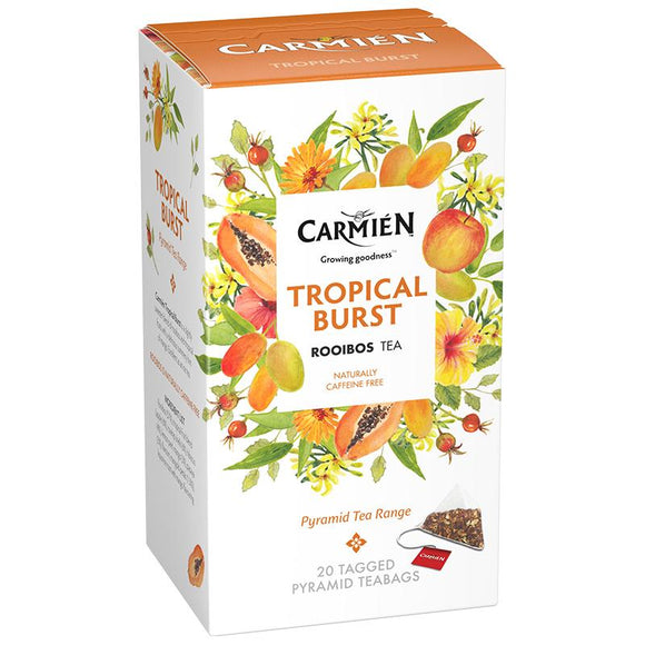 Carmién Tropical Burst Rooibos Tea food Carmién Tea