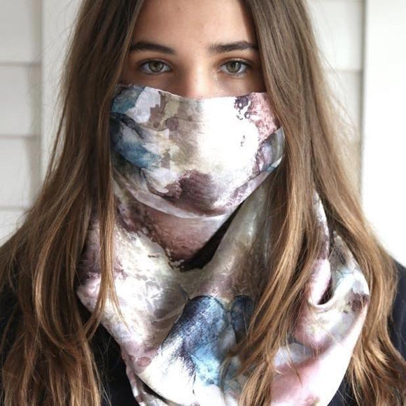 Charmz Pastel Mix Snood Face Mask clothing & accessories Charmz