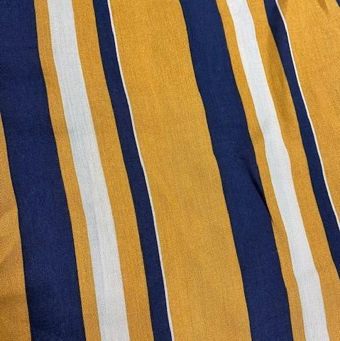 Charmz Snood Face Masks clothing & accessories Charmz navy & mustard stripe