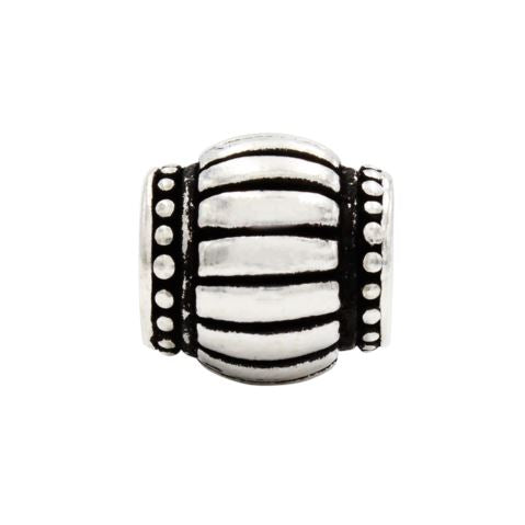 Charmz Sterling Silver Barrel Charm clothing & accessories Charmz