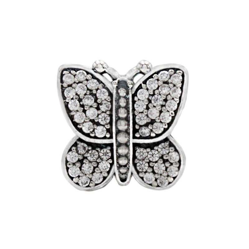 Charmz Sterling Silver Butterfly Charm clothing & accessories Charmz