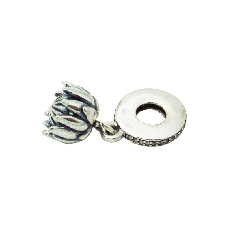 Charmz Sterling Silver Exclusive Protea Charm clothing & accessories Charmz