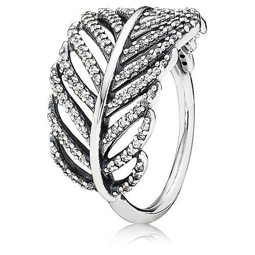 Charmz Sterling Silver Fern Ring clothing & accessories Charmz