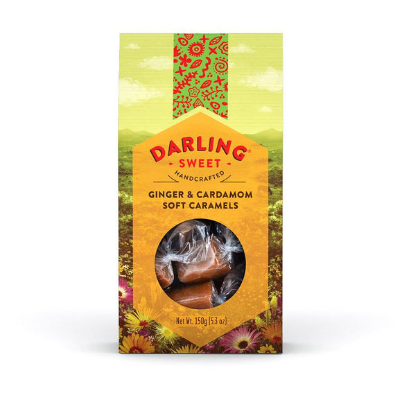Darling Sweet Ginger & Cardamom Soft Caramels food Darling Sweet