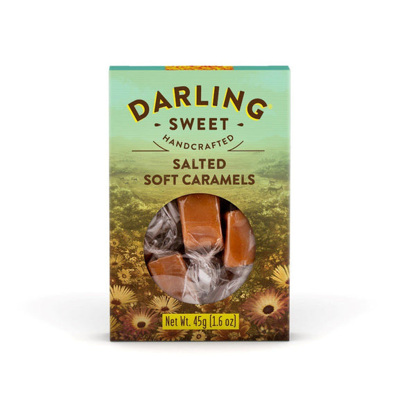 Darling Sweet Salted Soft Caramels 45g food Darling Sweet