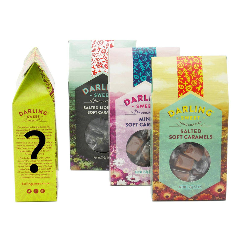 Darling Sweet Soft Caramels Mystery Array 600g food Darling Sweet