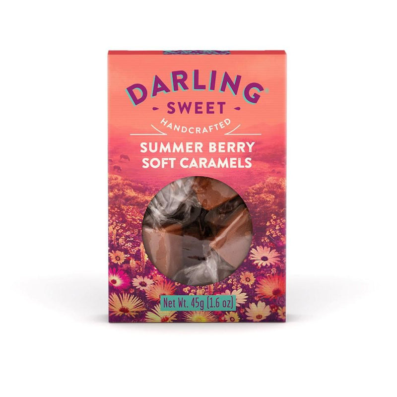 Darling Sweet Summer Berry Soft Caramels 45g food Darling Sweet