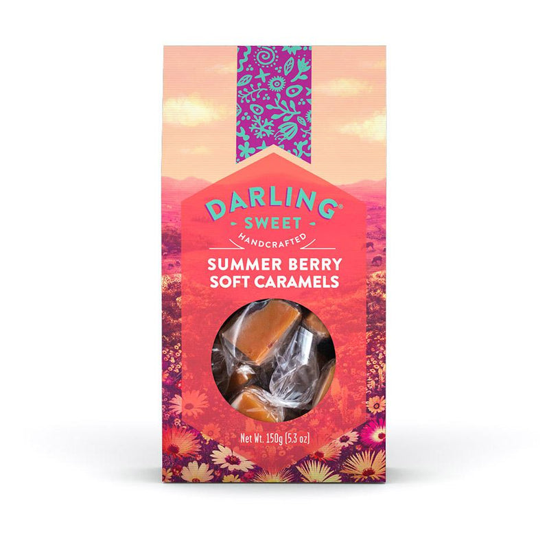 Darling Sweet Summer Berry Soft Caramels food Darling Sweet