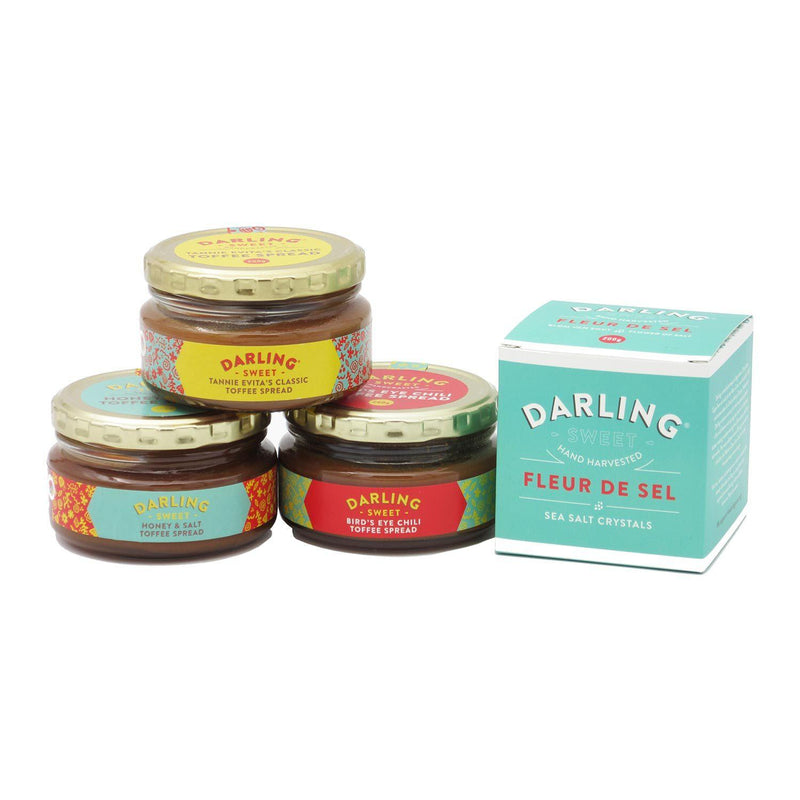 Darling Sweet Toffee Spread & Fleur de Sel Array food Darling Sweet