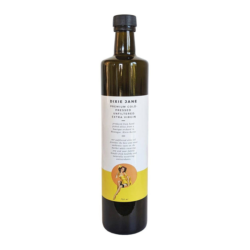 Dixie Jane Extra Virgin Unfiltered Olive Oil 750ml food Dixie Jane