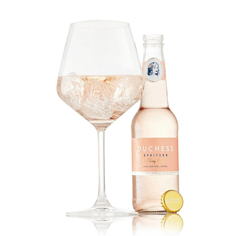 Duchess Berry Rose Alcohol-Free Wine Spritz food The Duchess
