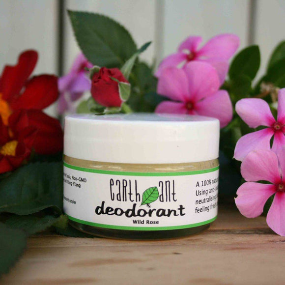 Earth Ant Wild Rose Deodorant health & body Earth Ant