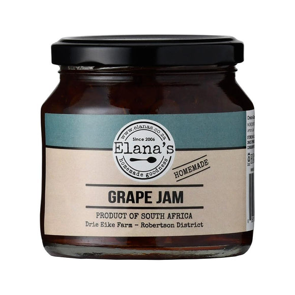 Elana's Homemade Grape Jam 250ml food Elana's