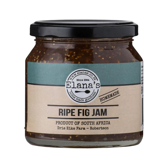Elana's Homemade Ripe Fig Jam 250ml food Elana's