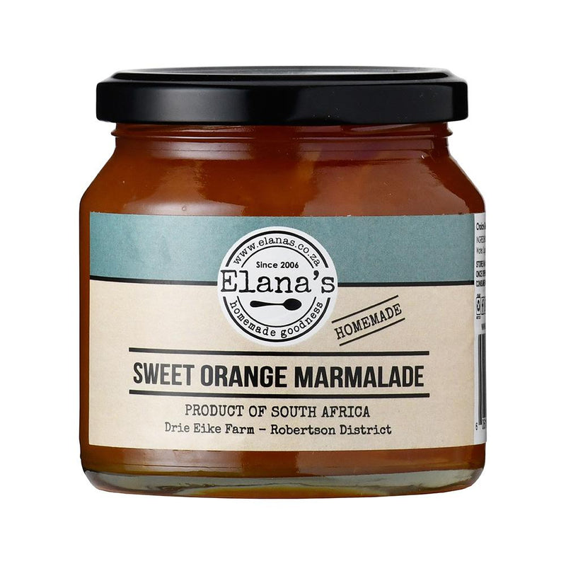 Elana's Homemade Sweet Orange Marmalade 250ml food Elana's