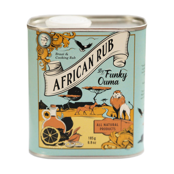 Funky Ouma African Braai & Cooking Rub Tin 250ml food Funky Ouma