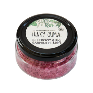 Funky Ouma Beetroot & Purple Fig Salt Garnish Flakes food Funky Ouma