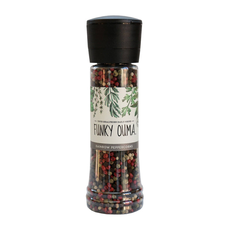Funky Ouma Rainbow Peppercorn Grinder 325ml food Funky Ouma