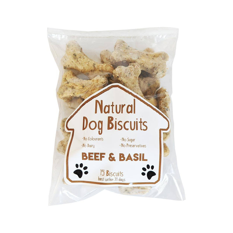 Get Spice Natural Beef & Basil Dog Biscuits food Get Spice