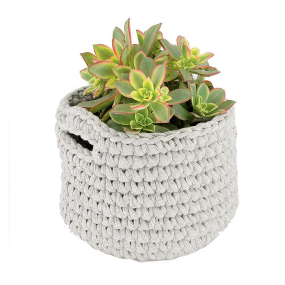 H18 Cotton Crochet Planters home & decor H18 Foundation