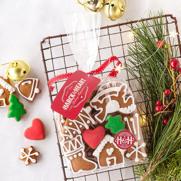 Harck & Heart Christmas Gingerbread Biscuit Gift Pack food Harck & Heart