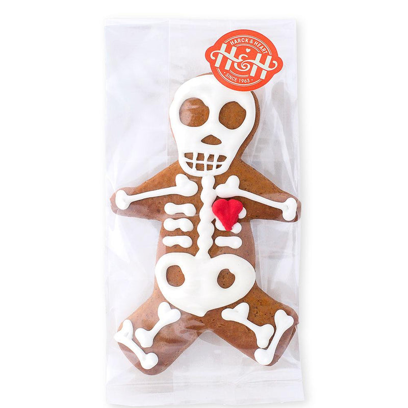 Harck & Heart Jack Marrow Skeleton Gingerbread Biscuits food Harck & Heart