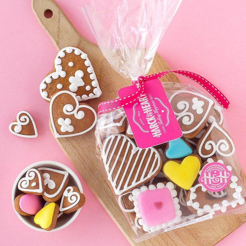 Harck & Heart Valentine's Gingerbread Biscuit Gift Pack food Harck & Heart