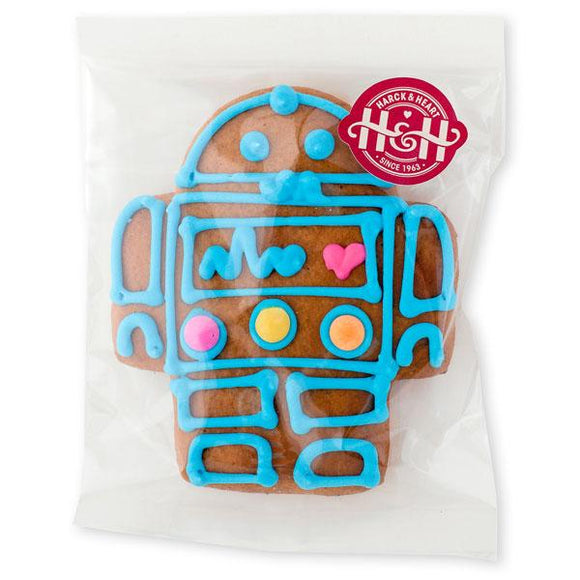 Harck & Heart Walle the Robot Gingerbread Biscuits food Harck & Heart