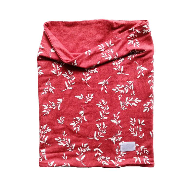 Hartlam Textiles Double Sided Paprika Face Cover clothing & accessories Hartlam Textiles & Prints