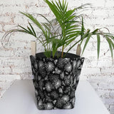 Hartlam Textiles Storage Baskets & Planters home & decor Hartlam Textiles & Prints black tropical