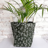 Hartlam Textiles Storage Baskets & Planters home & decor Hartlam Textiles & Prints green cuttings