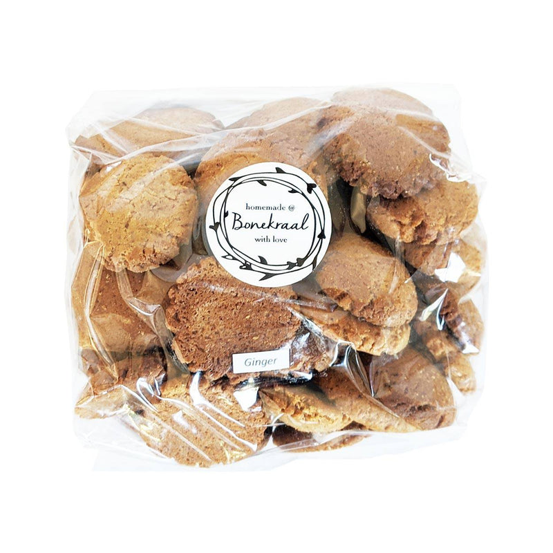 Homemade@Bonekraal Ginger Biscuits 500g food Bonekraal