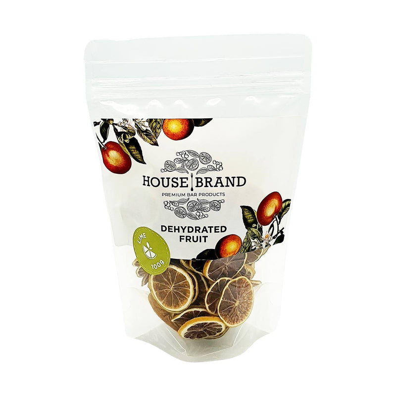 House Brand Dehydrated Lime Wheels 100g food House Brand