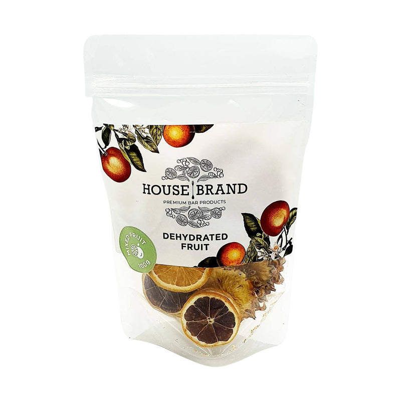 House Brand Dehydrated Mixed Fruit Wheels 100g food House Brand