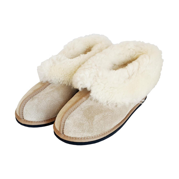 Karu Frosty Sand Sheepskin Slippers clothing & accessories Karu Slippers