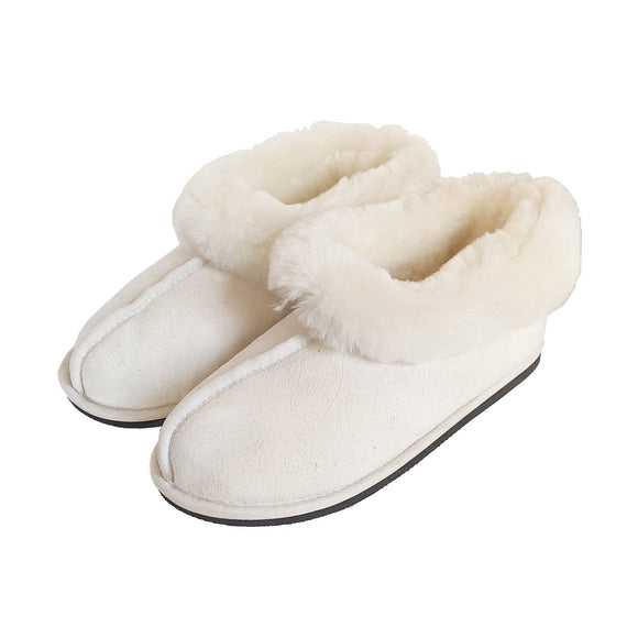 Karu Softy Cream Sheepskin Slippers clothing & accessories Karu Slippers